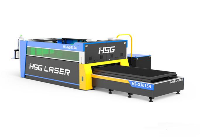 Découpeuse laser fibre HSG GA – 5' x 10' ou plus et de 1kW à 4kW