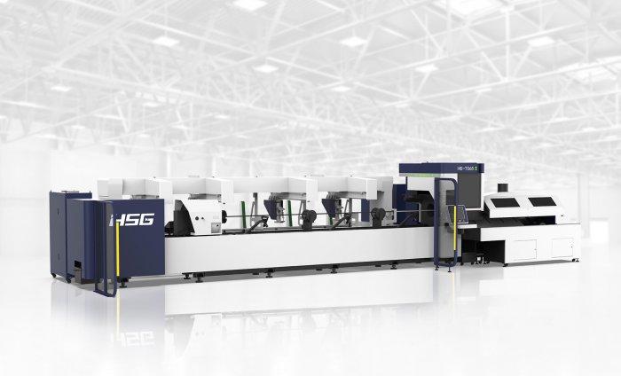 Découpeuse laser tube HSG HS-TS65